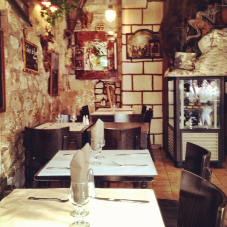 Touristic restaurant at Rue Xavier Privas
