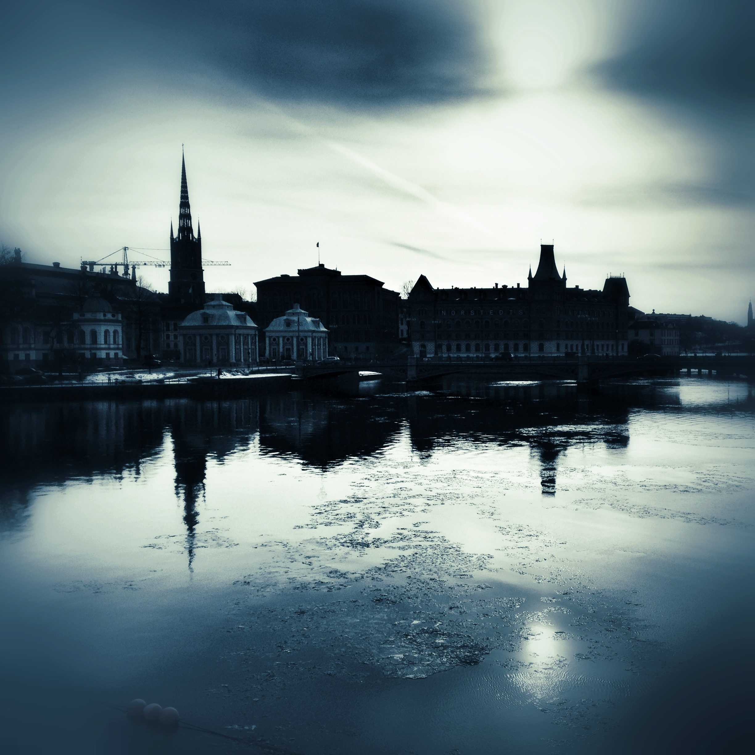 Riddarholmen in winter
