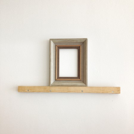Wall in frame